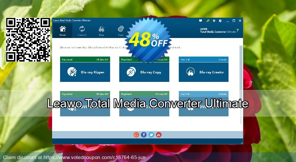 Get 30% OFF Leawo Total Media Converter Ultimate offering sales