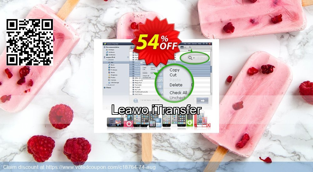 Get 30% OFF Leawo iTransfer sales