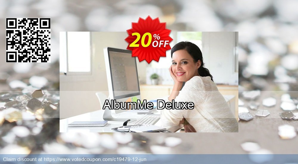 Get 20% OFF AlbumMe Deluxe promotions