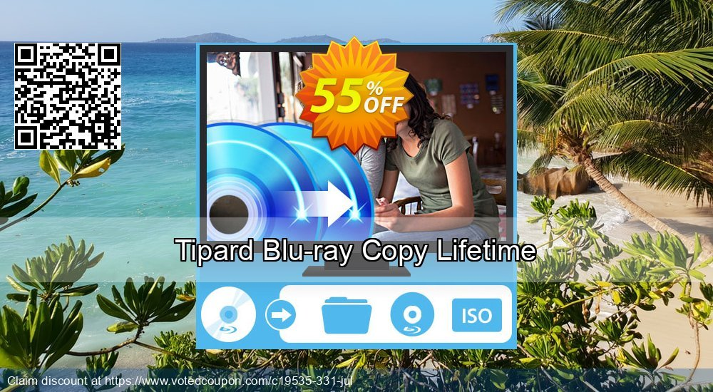 Get 40% OFF Tipard Blu-ray Copy Lifetime License offering sales