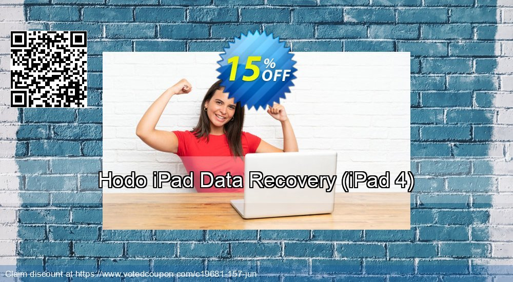 Get 15% OFF Hodo iPad Data Recovery (iPad 4) Coupon