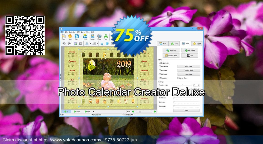 Get 70% OFF Photo Calendar Creator Deluxe promo sales