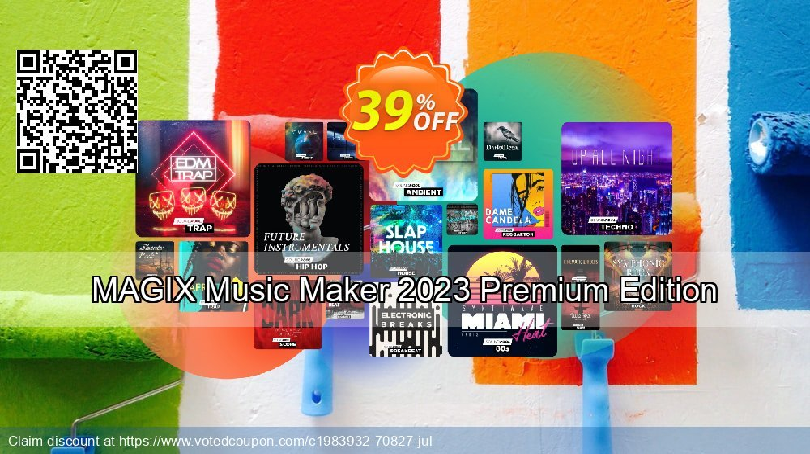 Get 24% OFF MAGIX Music Maker 2020 Premium Edition offering sales