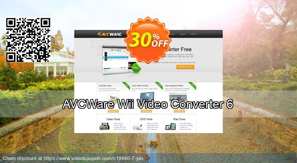 Get 30% OFF AVCWare Wii Video Converter 6 offering sales
