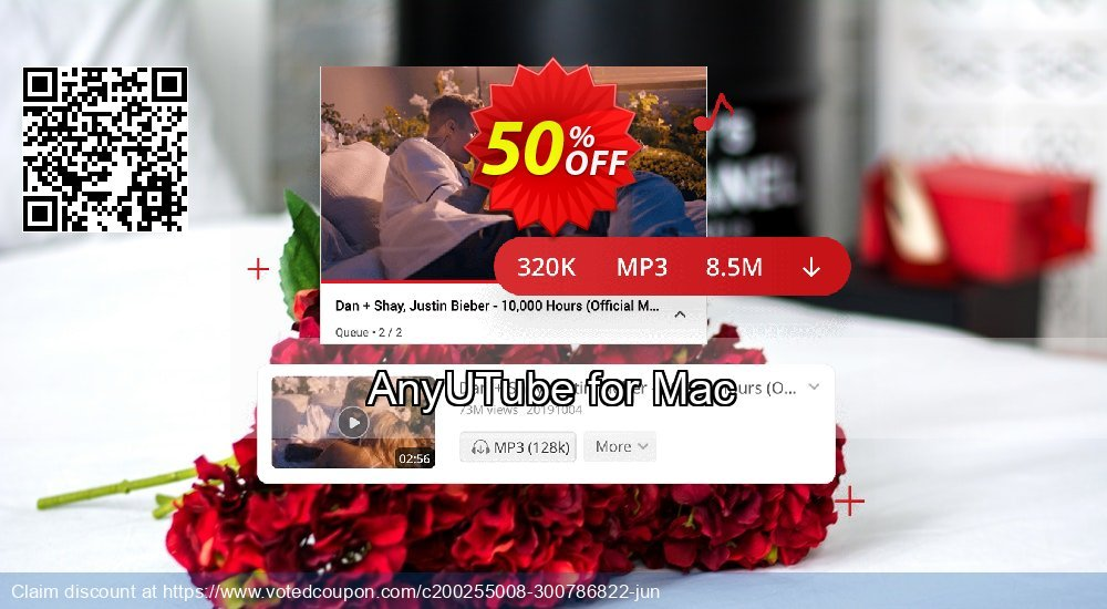 Get 51% OFF AnyUTube Mac Annually Coupon