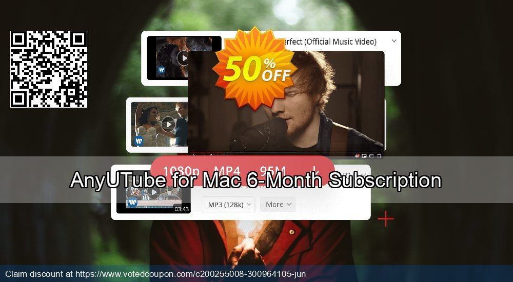 Get 53% OFF AnyUTube Mac 6-Month Subscription Coupon
