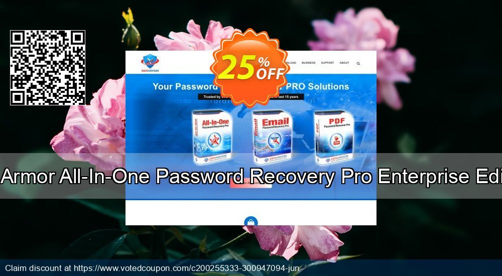 Get 80% OFF XenArmor All-In-One Password Recovery Pro Enterprise Edition Coupon