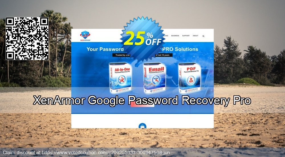 Get 84% OFF XenArmor Google Password Recovery Pro Personal Edition Coupon