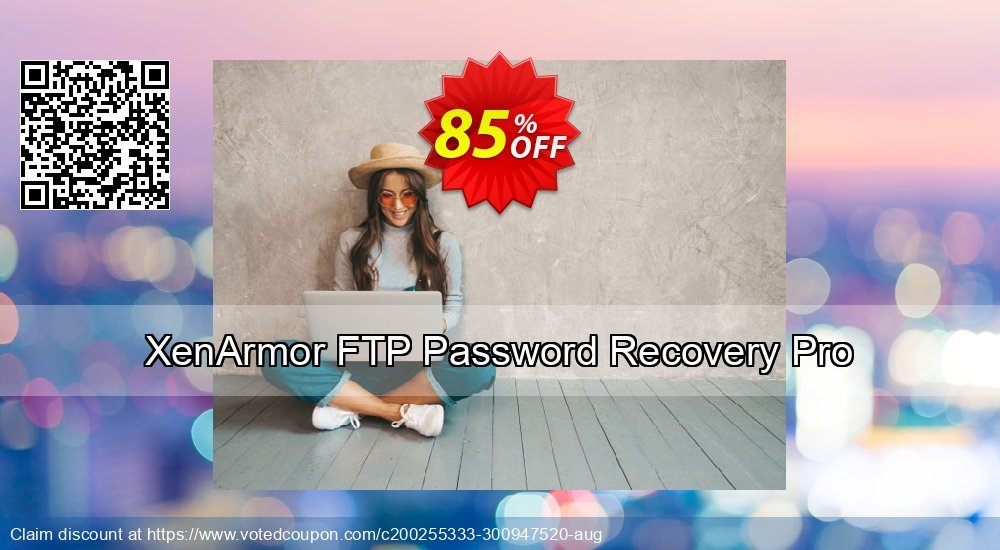 Get 84% OFF XenArmor FTP Password Recovery Pro Personal Edition Coupon
