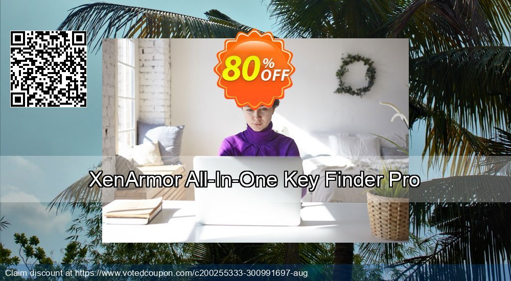 Get 80% OFF XenArmor All-In-One Key Finder Pro Coupon