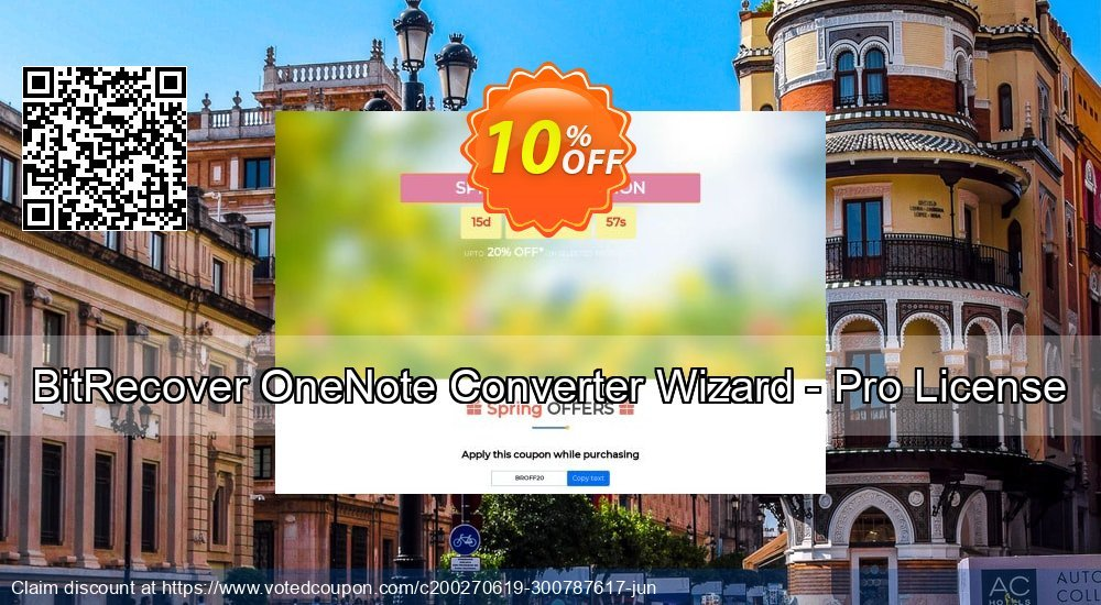 Get 10% OFF BitRecover OneNote Converter Wizard - Pro License Coupon