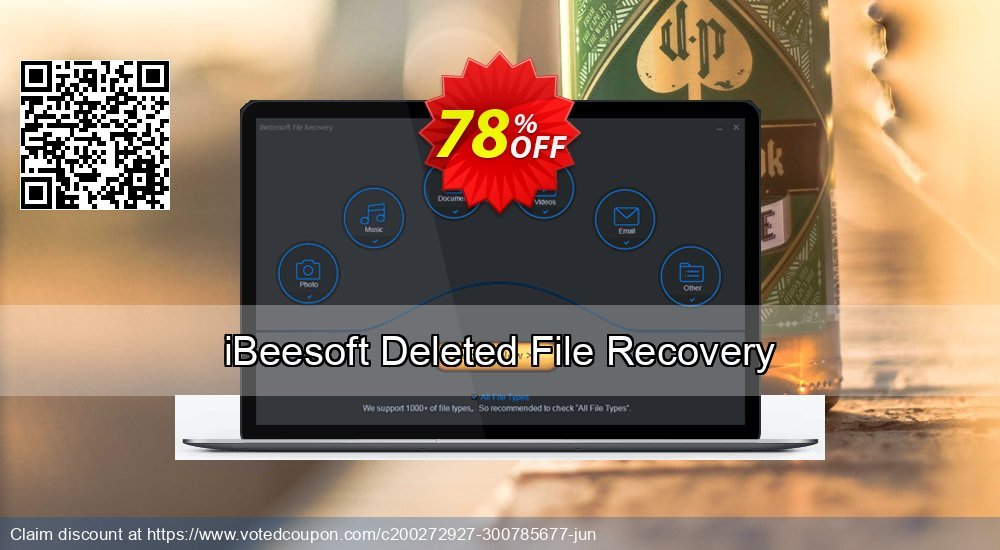 Get 56% OFF iBeesoft Deleted File Recovery Coupon