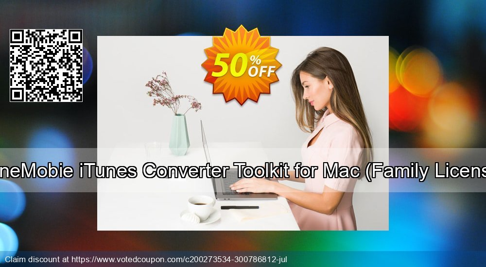 Get 10% OFF TuneMobie iTunes Converter Toolkit for Mac (Family License) discounts