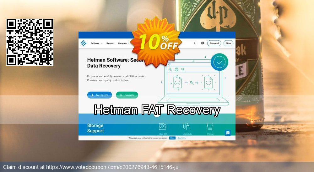 Get 11% OFF Hetman FAT Recovery Coupon