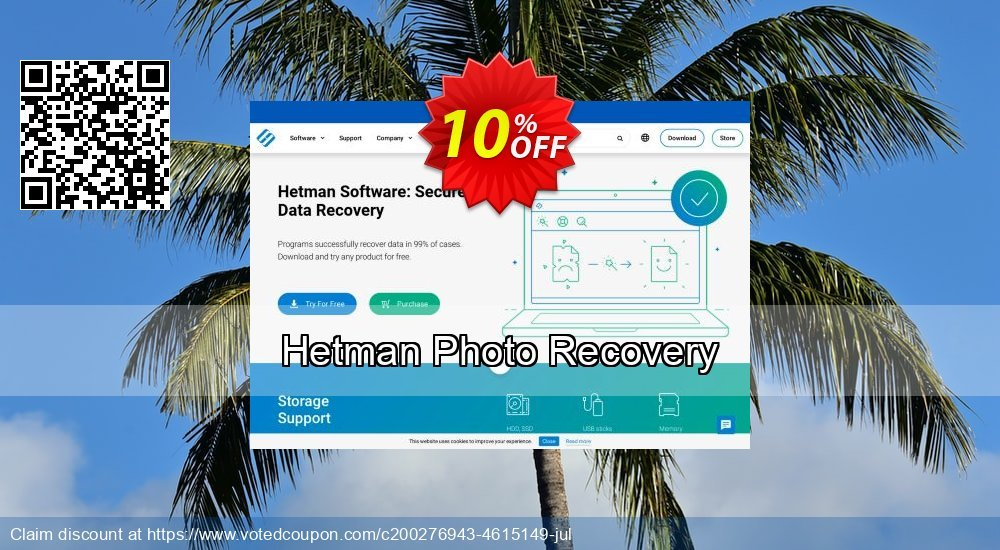 Get 11% OFF Hetman Photo Recovery Coupon
