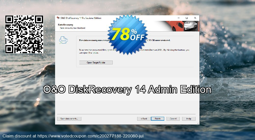 Get 50% OFF O&O DiskRecovery 14 Admin Edition Coupon