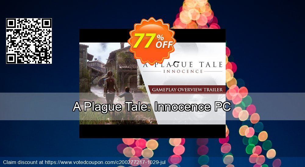 Get 43% OFF A Plague Tale: Innocence PC discount