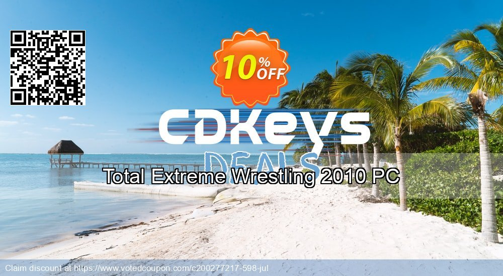 Get 10% OFF Total Extreme Wrestling 2010 PC offering deals