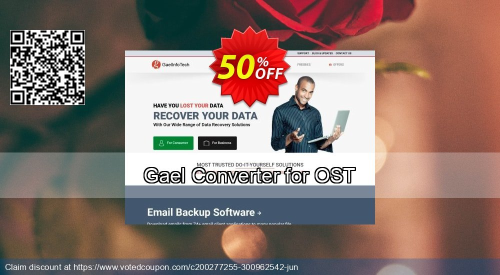 Get 50% OFF Gael Converter for OST - Standard License Coupon