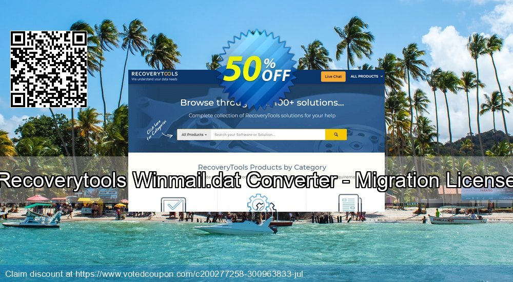 Get 50% OFF Winmail.dat Converter - Migration License Coupon