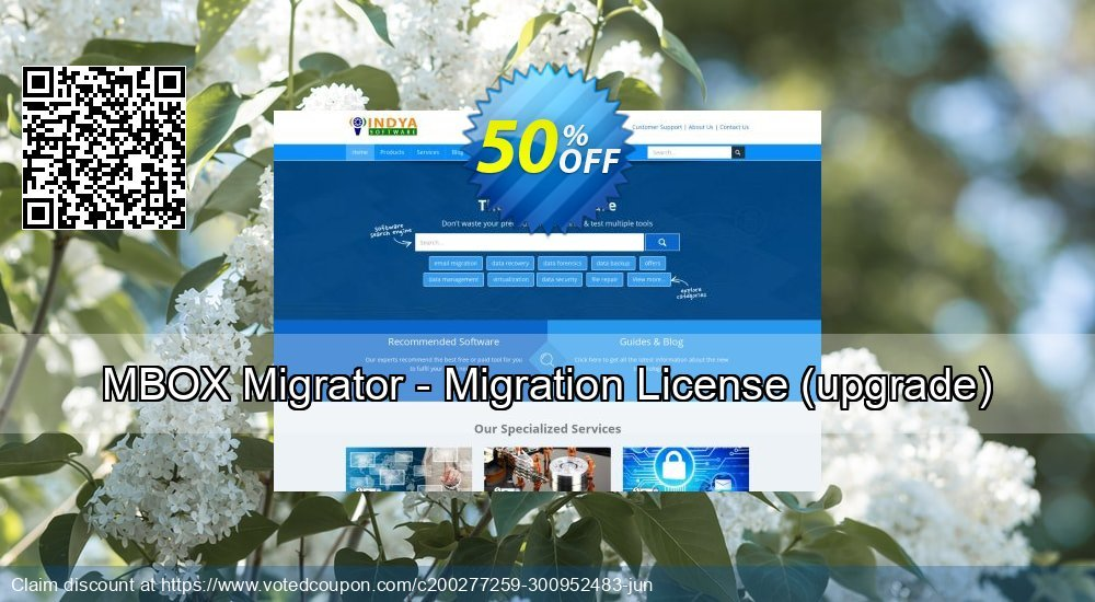 Get 50% OFF MBOX Migrator - Migration License, upgrade Coupon