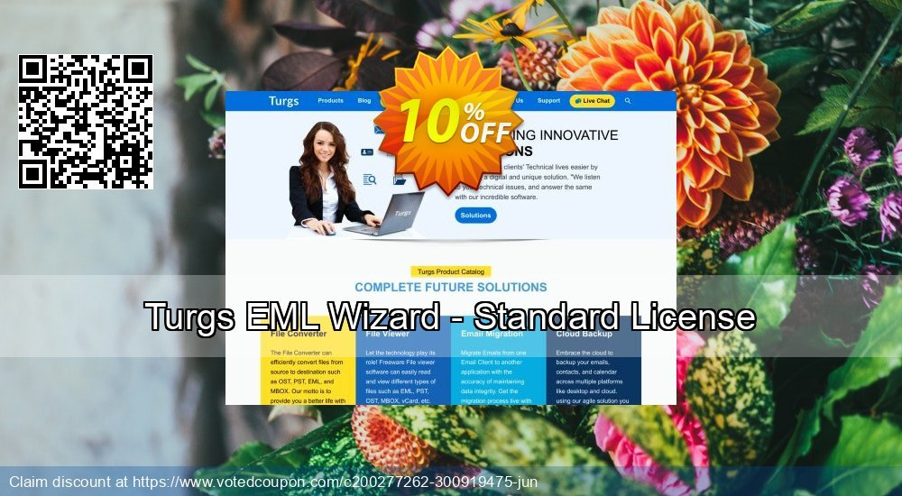 Get 10% OFF Turgs EML Wizard - Standard License Coupon