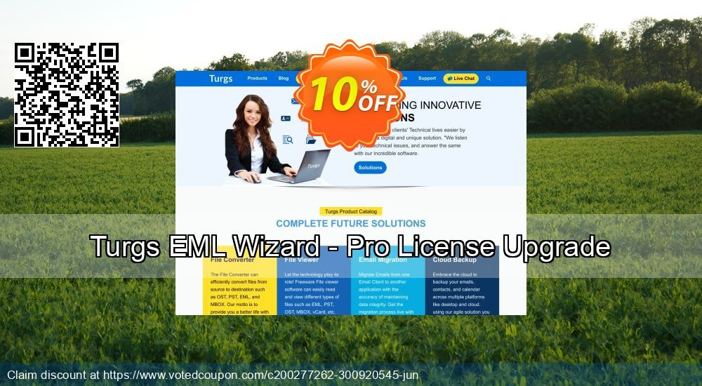 Get 10% OFF Turgs EML Wizard - Pro License Upgrade Coupon