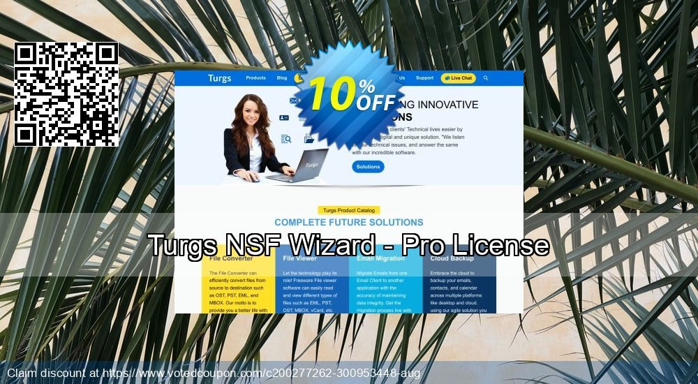 Get 10% OFF Turgs NSF Wizard - Pro License Coupon