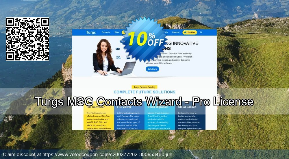 Get 10% OFF Turgs MSG Contacts Wizard - Pro License Coupon