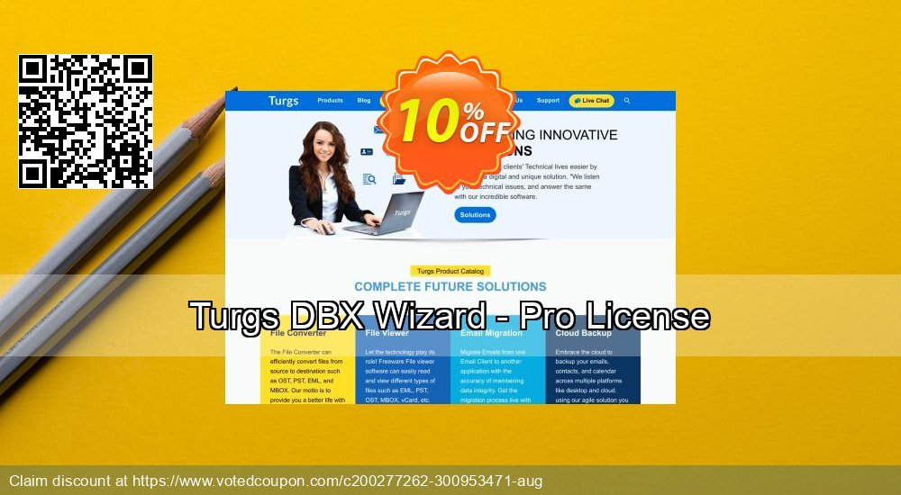 Get 10% OFF Turgs DBX Wizard - Pro License Coupon