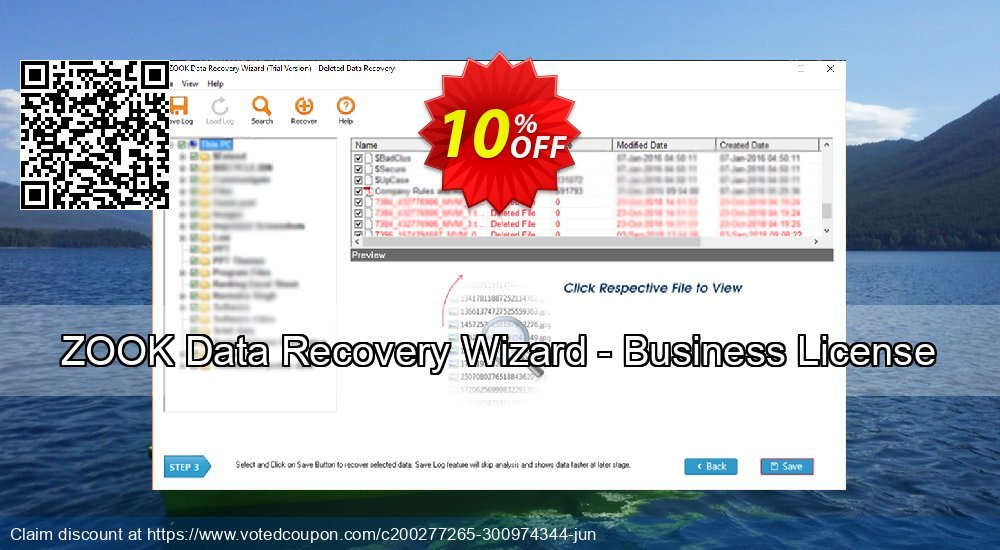Get 10% OFF ZOOK Data Recovery Wizard - Business License Coupon