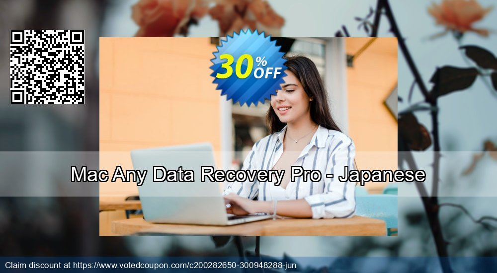 Get 30% OFF Mac Any Data Recovery Pro - Japanese discounts