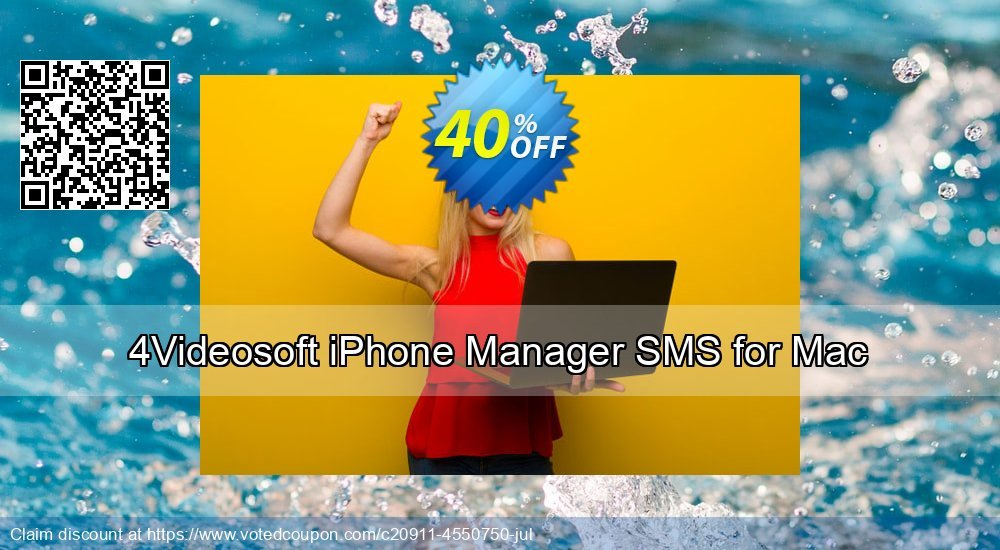 Get 40% OFF 4Videosoft iPhone Manager SMS for Mac deals