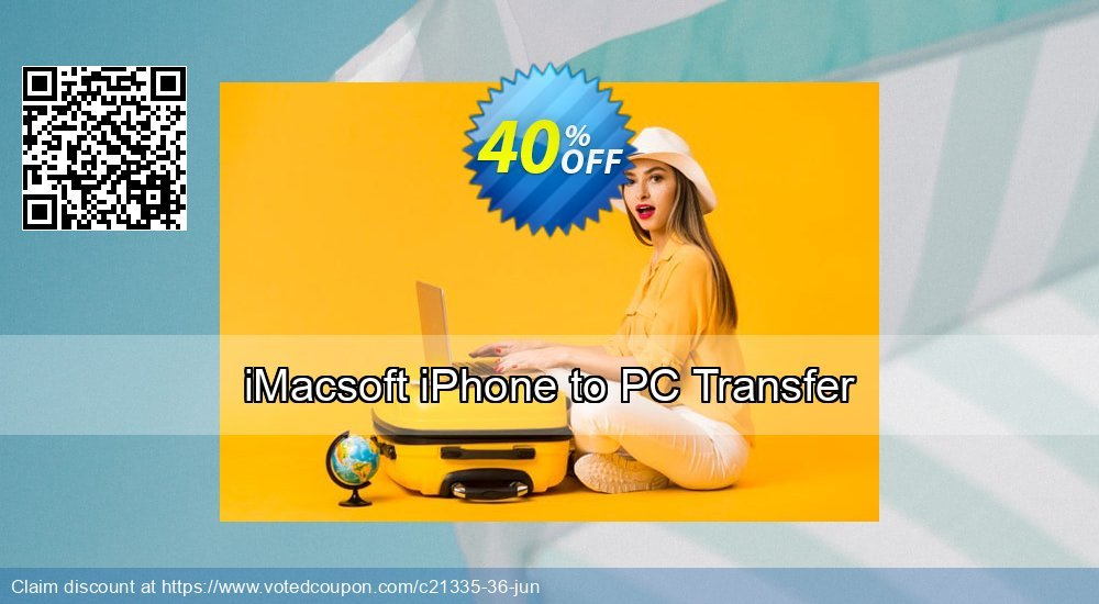 Get 40% OFF iMacsoft iPhone to PC Transfer offering sales