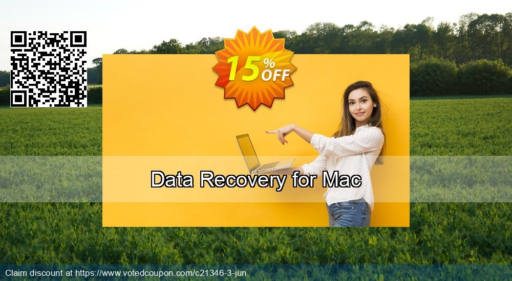 Get 15% OFF Data Recovery for Mac deals