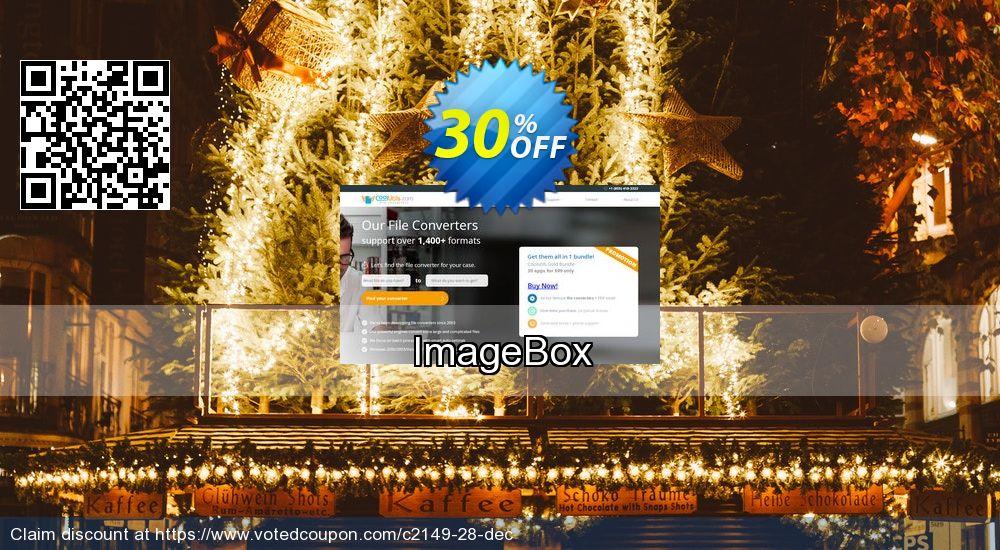 Get 30% OFF ImageBox offering sales