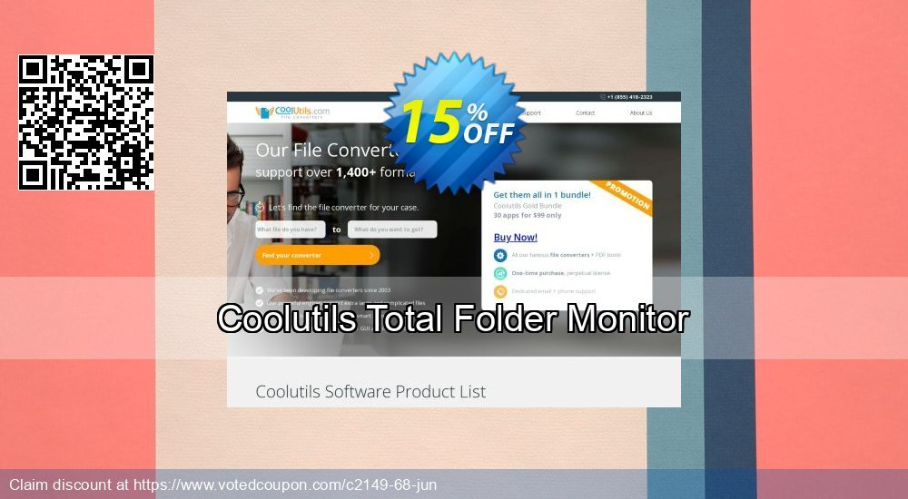 Get 30% OFF Total Folder Monitor offering deals