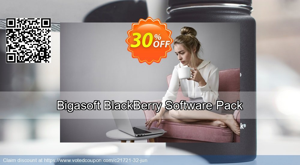 Get 30% OFF Bigasoft BlackBerry Software Pack discount