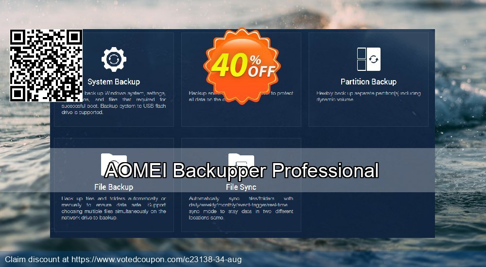 Get 30% OFF AOMEI Backupper Pro promotions