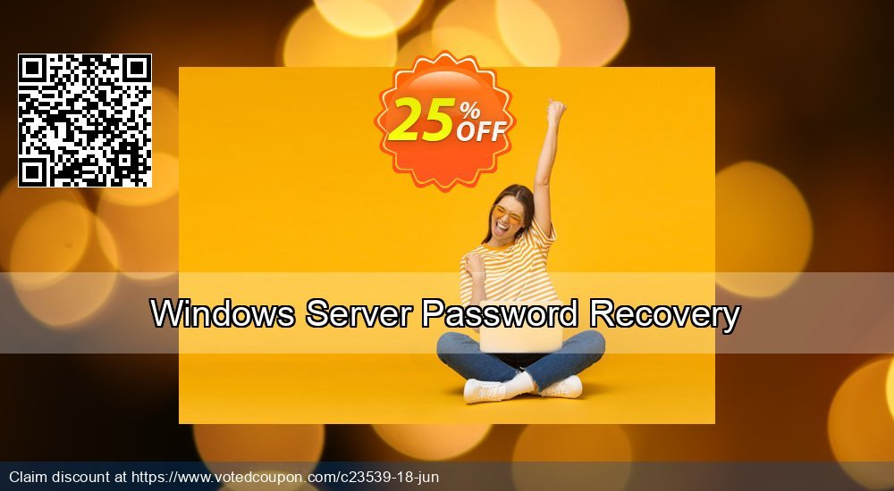 Get 25% OFF Windows Server Password Recovery Coupon