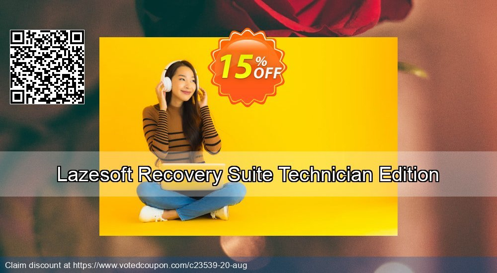 Get 15% OFF Lazesoft Recovery Suite Technician Edition Coupon