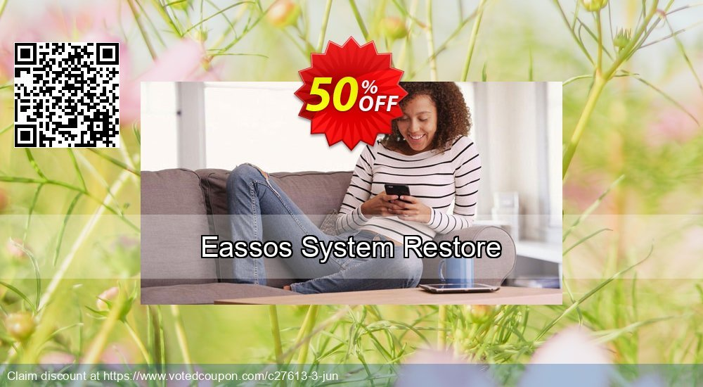 Get 50% OFF Eassos System Restore Coupon