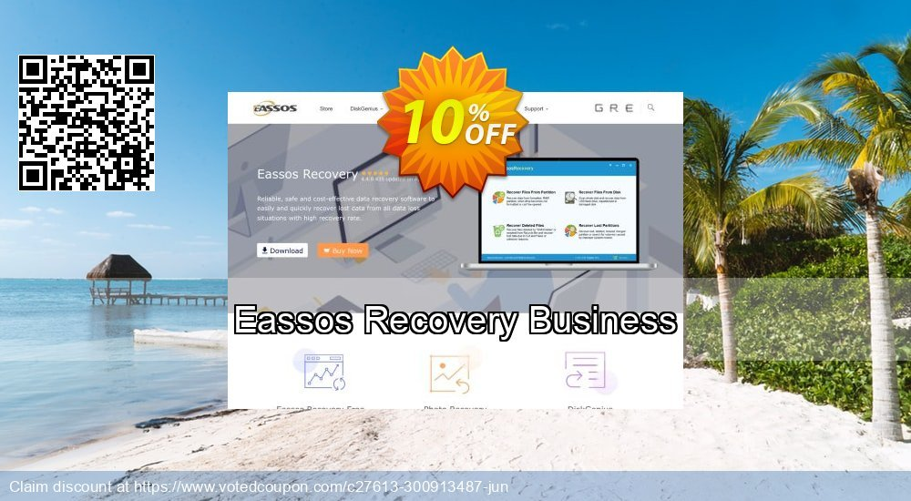 Get 10% OFF Eassos Recovery Business Coupon