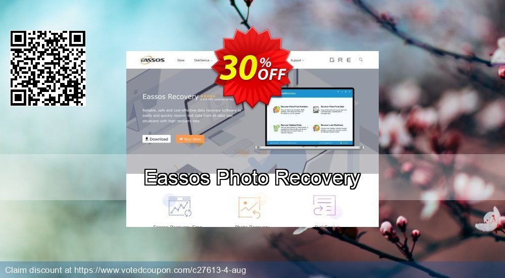 Get 30% OFF Eassos Photo Recovery Coupon