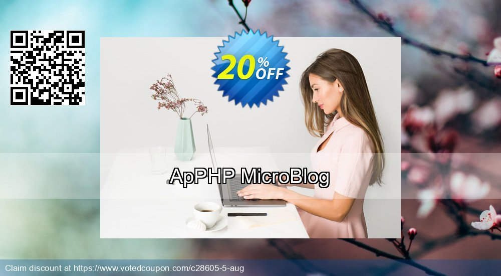 Get 20% OFF ApPHP MicroBlog offering sales