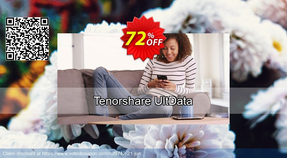 Get 65% OFF Tenorshare UltData Coupon