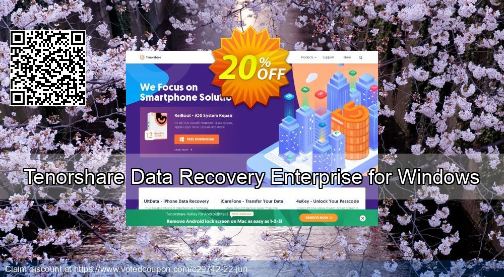Get 19% OFF Tenorshare Data Recovery Enterprise for Windows Coupon