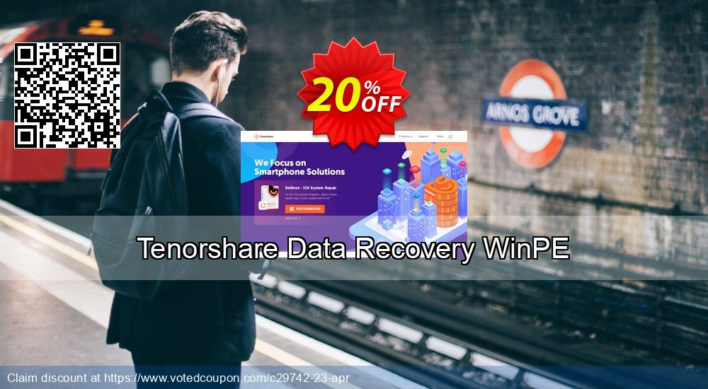 Get 10% OFF Tenorshare Data Recovery WinPE Coupon