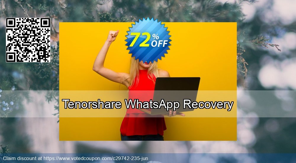 Get 18% OFF Tenorshare WhatsApp Recovery Coupon
