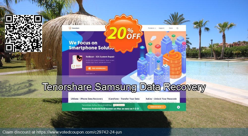 Get 10% OFF Tenorshare Samsung Data Recovery Coupon